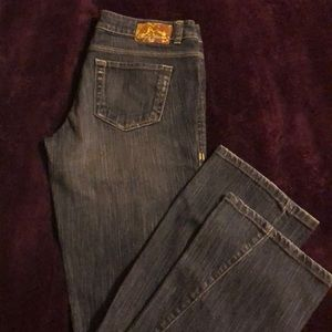 DKNY Jeans- Distressed Medium Wash